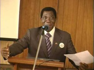 The President of the General Assembly of the Cameroon Bar Association, Barrister Nico Halle