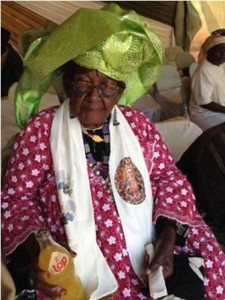 Cardinal Tumi's mother 1-1