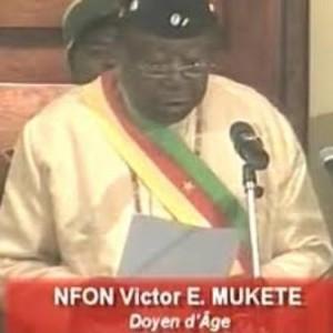 Senator  Nfon V. E Mukete