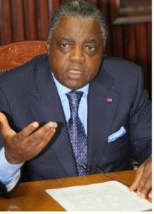 Minister of Territorial Administration and Decentralisation , Rene Sadi