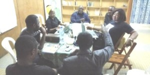 """""""Stand Up For Cameroon"""" Opposition Coalition Leaders Strategising"""