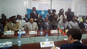 Stakeholders during the signing  of the water convention