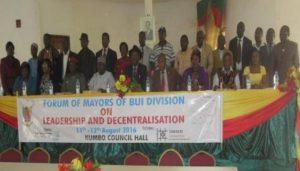 Bui Mayor's seminar