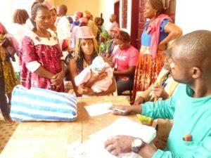 Komo-Mvokani people benefitting from free medical consultation