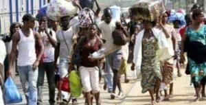 Gabonese fleeing in Cameroon in their numbers