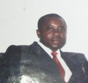 Barrister Arrey Collins of   Limbe