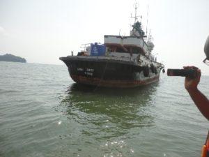 Stolen Nigerian ship