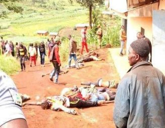 Outrage In NW Over Menka-Pinyin Massacre